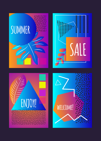 banners for summer party