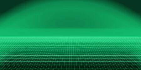 Green retro background landscape Фото со стока
