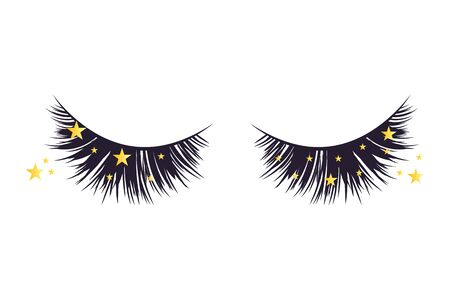 Luxury extension eyelashes Banque d'images - 131867778