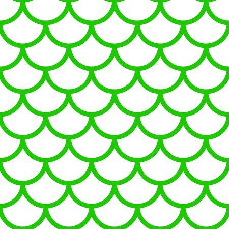Meerjungfrau-Muster, Fischschuppen-Druck, Vektor siehe Hintergrund, Sommerbanner, Kinder nahtlose Muster