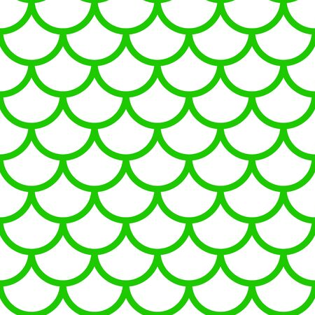 Mermaid pattern, fish scale print, vector see background, summer banner, kids seamless pattern Ilustrace