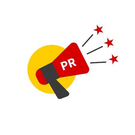 PR agency sign 일러스트