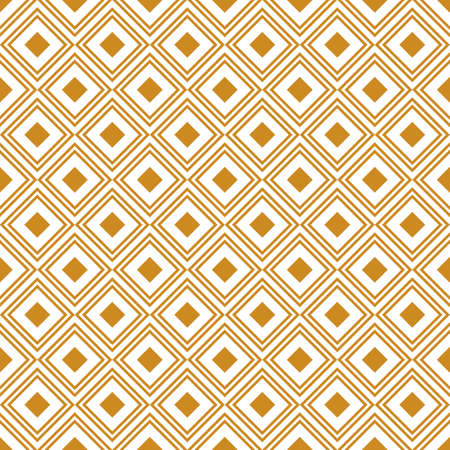 retro background with gold rhombus