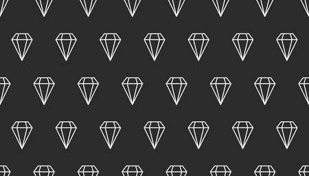 Seamless line diamonds pattern Ilustrace