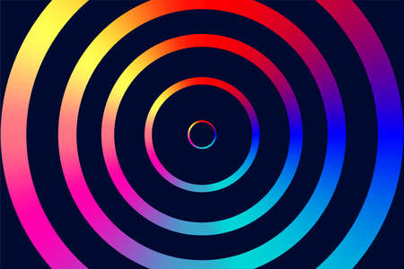 Background with glowing circles for night club