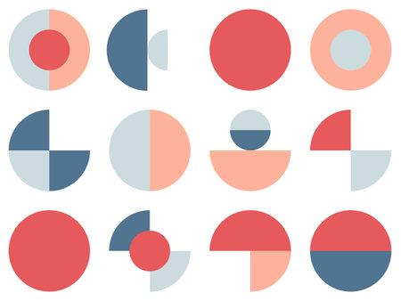 Trendy bauhaus pattern. Bauhaus poster