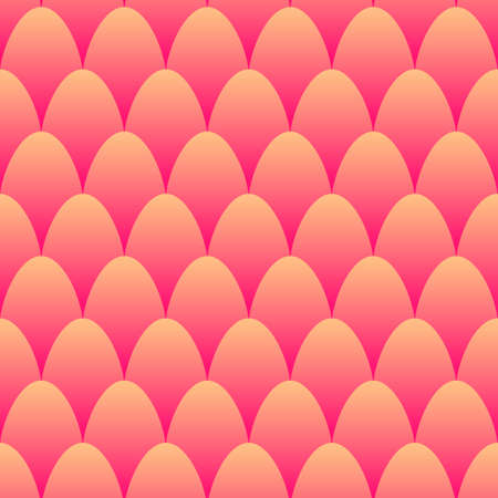 Fish scales seamless pattern. Mermaid tail background. Pattern with circles 矢量图像