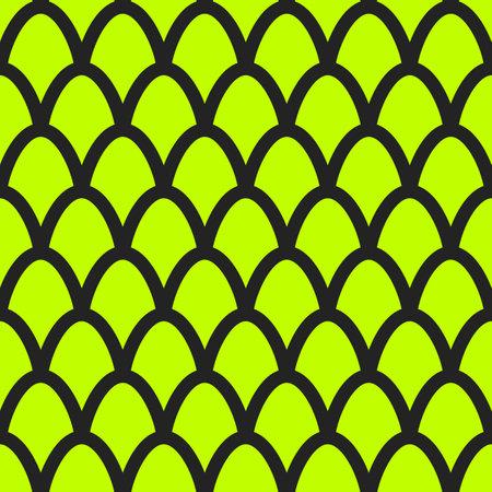 Fish scales seamless pattern. Mermaid tail background 矢量图像