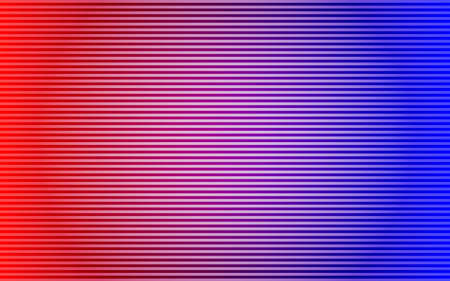 Abstract striped lined horizontal glowing background. Scan screen. 矢量图像