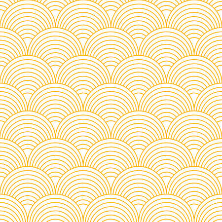 Seamless abstract paste banner with geometric line circles