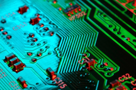 computer part: Circuit Board Technology Background