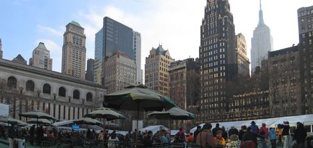 Bryant Park - New York - Panorama.