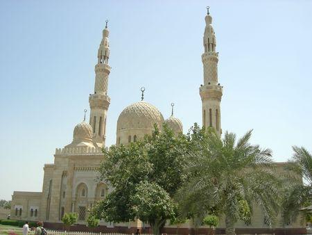 Arabic mosque - Dubai - Arab Emirates. Stock Photo - 843967