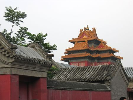The imperial roofs - Forbidden city - Beijing - China. Stock Photo - 868208