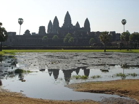 The imperial old khmer city - Angkor Vat - Angkor temples - Cambodgia. photo