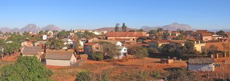 Magalasy village - Ambalavao - Madagascar - Panoramique.