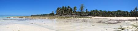 Nice beach - Nosy Iranja - Nosy Be island - Panoramique - Madagascar.