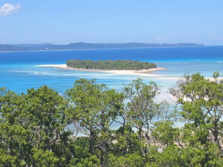 be: Tropical paradise - Nosy Iranja - Nosy Be island - Madagascar.