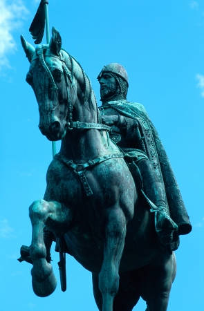 King Wenceslas Staute in Prague