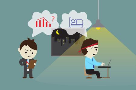 Werkgevers dwingen medewerkers om overuren te doen