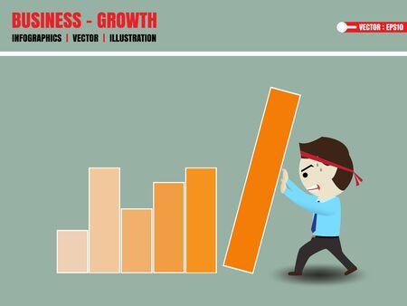 stimulate: Businessman accelerate business growth