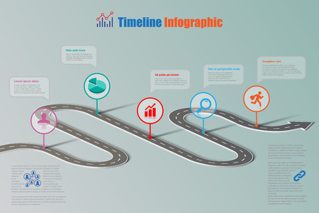 Business Road Map Timeline Infographic Icons Designed For Abstract Royalty Free Cliparts Vectors And Stock Ilration Image 83237389