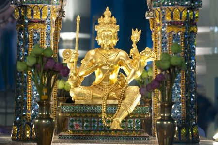 erawan shrine and brahma worship in thailand