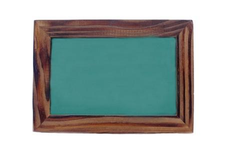ersatz: green board on white back ground