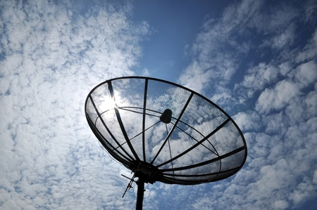 satellite dish antennas under sky photo