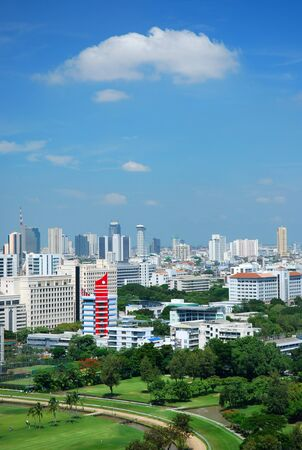 city scape bangkok thailand