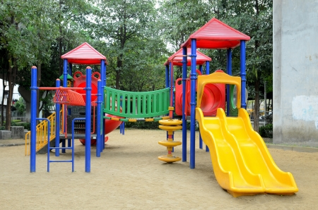 play ground in park of thailand