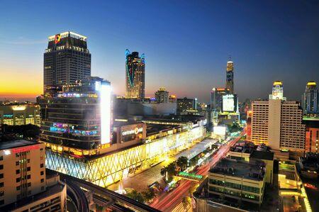 Bangkok night thailand