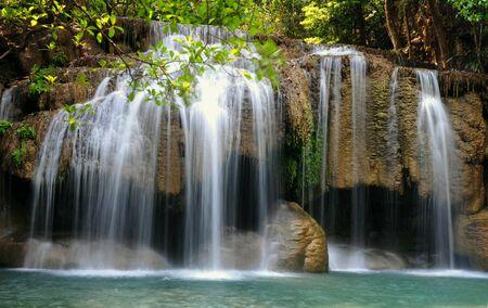 Watetfall deef forest thailand