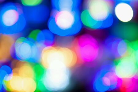 colorful: Colorful circles of light abstract background  n  n.