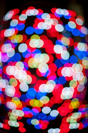 Colorful circles of light abstrack background  n  n. Stock Photo
