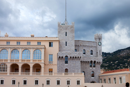 crenelation: Princes Palace of Monaco - It is the official residence of the Prince of Monaco, built in 1191