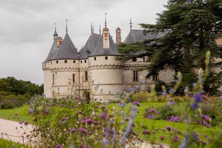 atraction: Chaumont on Loire castle Chaumont castle in France, Europe