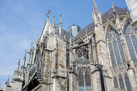 Place Vernier and Basilique Saint-Urbain de Troyes (Basilica of Saint Urban of Troyes