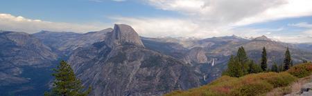 half dome: Yosemite Nation Park USA Half Dome Stock Photo