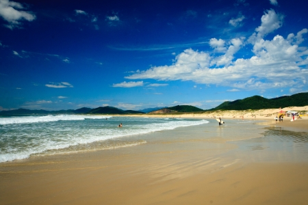 beaches in Florianopolis, Brazil photo