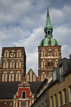 st Nicolai Church in Stralsund, northarn Germany photo