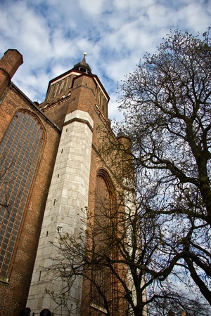 St. Marys Church, Stralsund, northern Germany photo