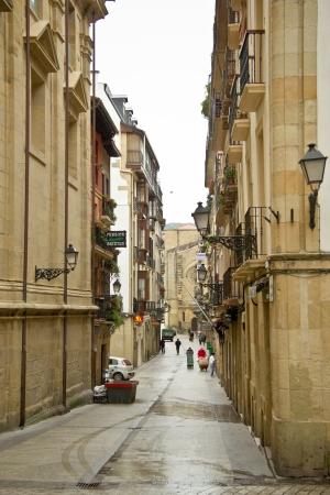 parte: street in San Sebastian, resort town in Spain