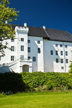 beautiful Castle of Dragsholm, Zeland, Denmark.