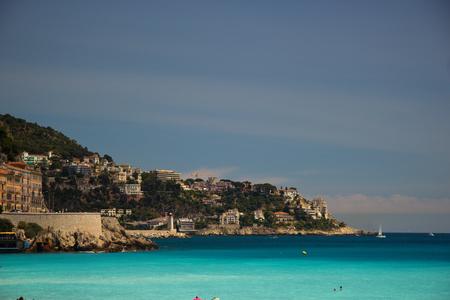 Harbor in Nice, France photo