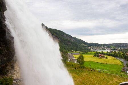hardanger: Steinsdalsfossen - one of the gorgeous waterfalls in Norway