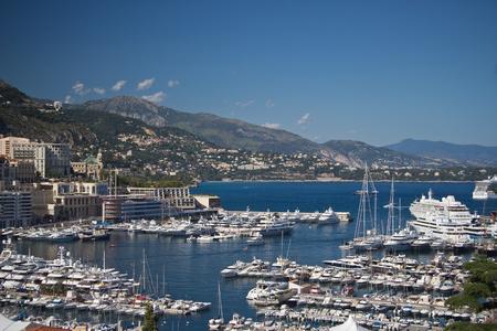 montecarlo: view of Monte-Carlo, Monaco, Corte dazure Stock Photo