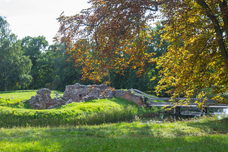 ruins of Asserbo caslte in Northern Denmark