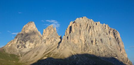 beautiful view of Dolomites Alps, South tyrol, Italy Stock Photo