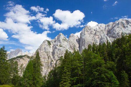 Summer in the Triglav National Park, Julian Alps, Slovenia